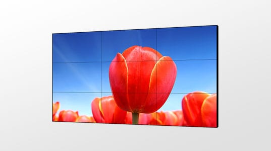LCD VIDEO WALL-FRONT